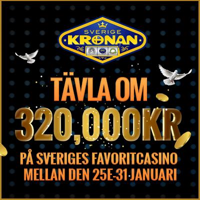 Svreige Kronan: Tavla Om 320,000KR
